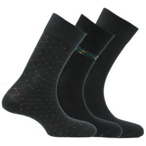 chaussettes pour homme coton