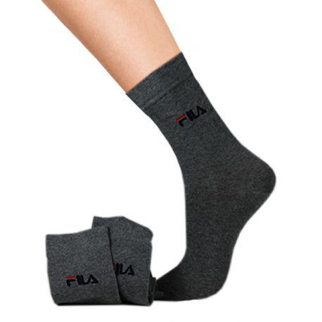 Lot de 3 chaussettes Fila mi-longues en coton femme