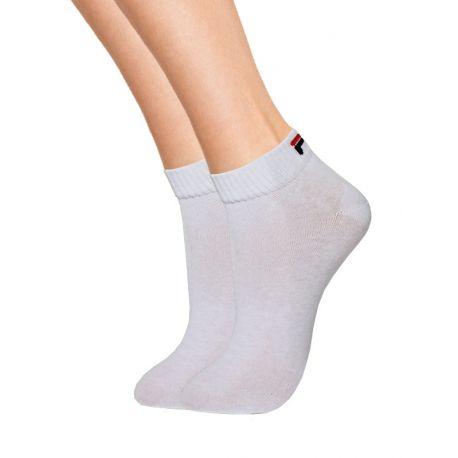 3 paires chaussettes Fila mi courtes grand confort
