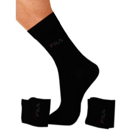 Lot de 3 chaussettes Fila mi-longues en coton