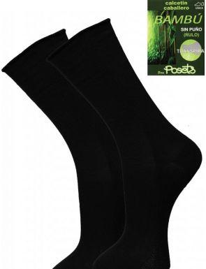 Lot de 2 paires chaussettes fil bambou homme