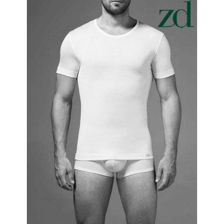 T-shirt Homme col rond Fil d'Ecosse ZD