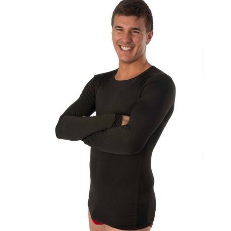 Chemise thermique intérieur pour homme à manches longues