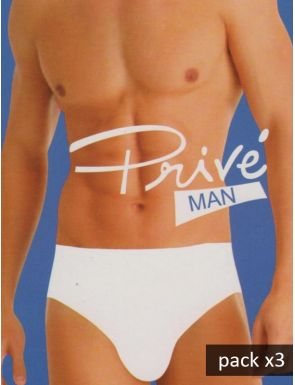 Pack 3 Slips sin costuras de modal para hombre