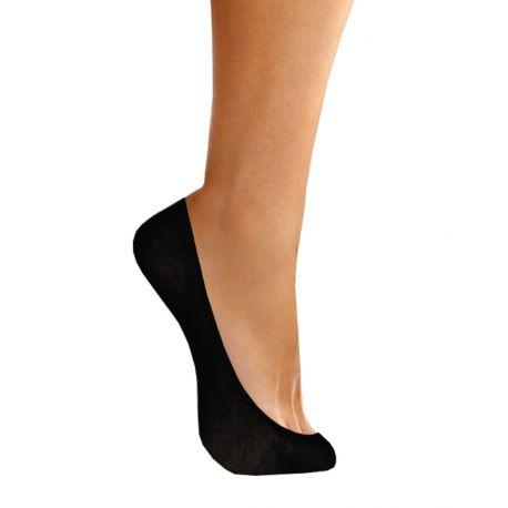 Chaussettes coton femme invisibles