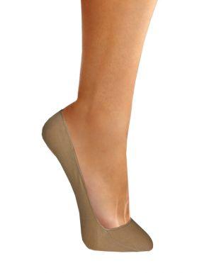Chaussettes invisibles coton femme