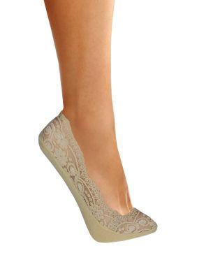 Protège-pieds de dentelle femme