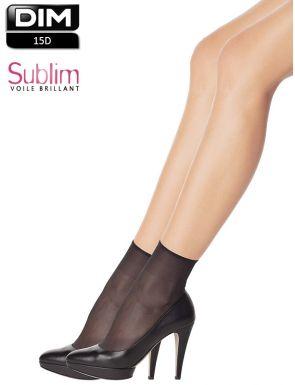 2 paires de socquettes irisées Dim Sublim 14D