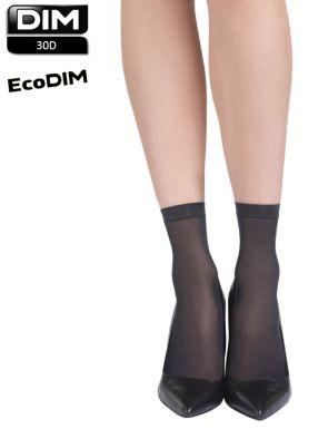 Socquettes ECODIM pack x4 paires 30 deniers