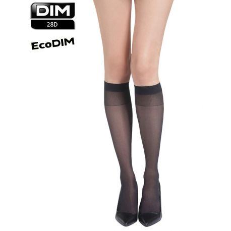 Mi-bas transparents ECODIM PACK X4 paires