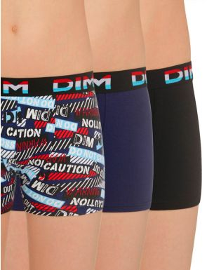 Lot de 2+1 boxers caution DIMBoy