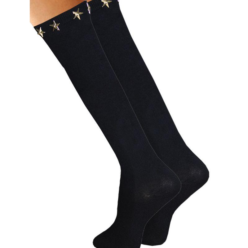 longues chaussettes en coton pour femme chaussettes au meilleur prix. Black Bedroom Furniture Sets. Home Design Ideas