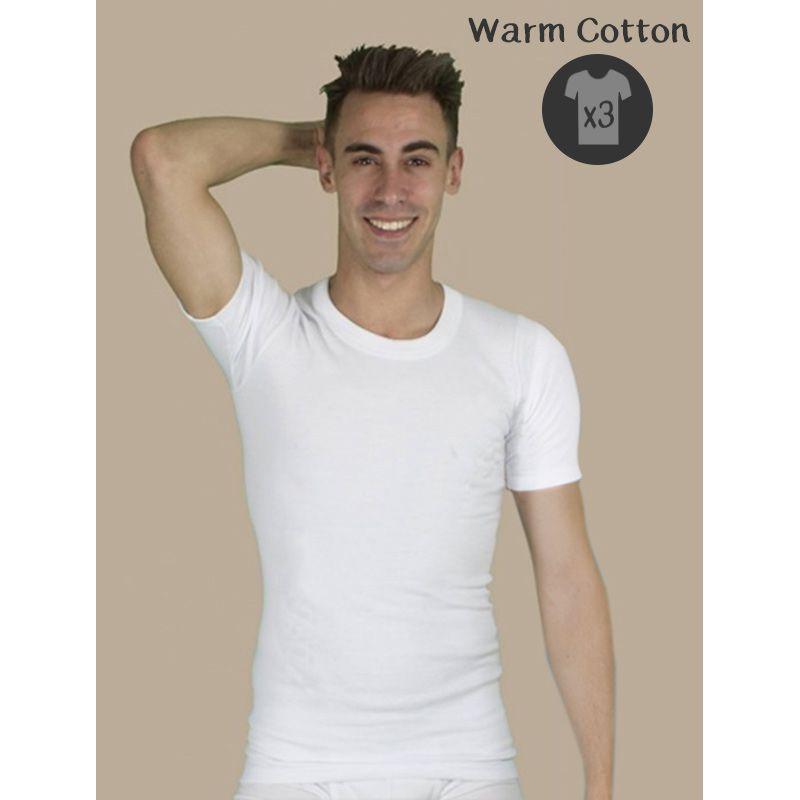 lot de 3 t shirt homme qui conserve la chaleur du corps. Black Bedroom Furniture Sets. Home Design Ideas