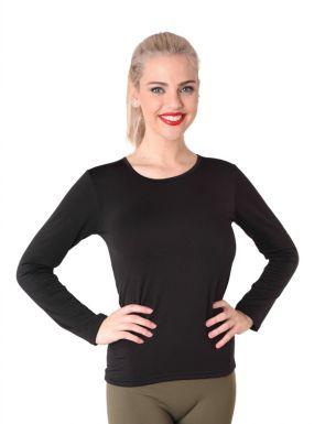 T-shirt femme thermale avec chenille