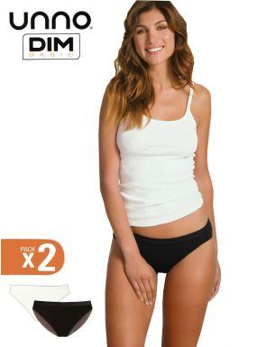 Culottes femme sans coutures Unno DIM x2