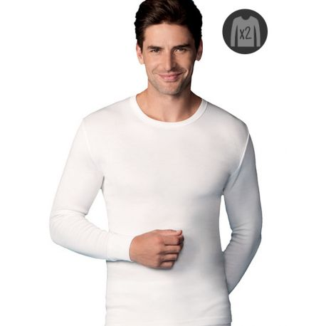 Lot x2 Tee-shirts Abanderado Chauds M/L