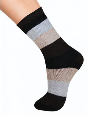 Chaussettes hivern pour femme avec laine