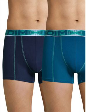 Boxers Homme Coton 3D Flex Dim x2