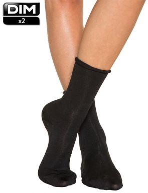 Chaussettes Modal femme DIM x2