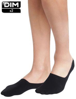 Protège-pieds en coton Dim x2