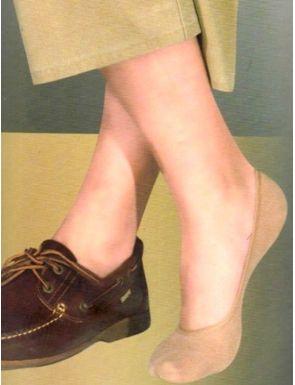 Protège-pied Homme en coton