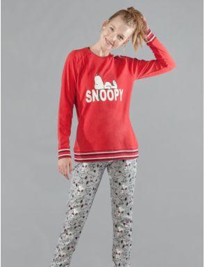 Pyjama femme d'hiver Snoopy