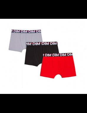 2+1 Boxers de coleurs DIM Boy