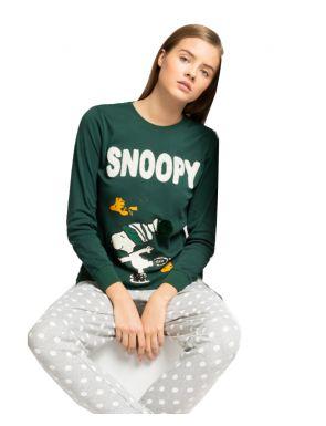 Pyjama long pour femmes du Snoopy