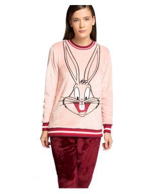 Pyjama en peluche Bugs Bunny Gisela