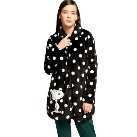 Robe de chambre taupes Snoopy de Gisela