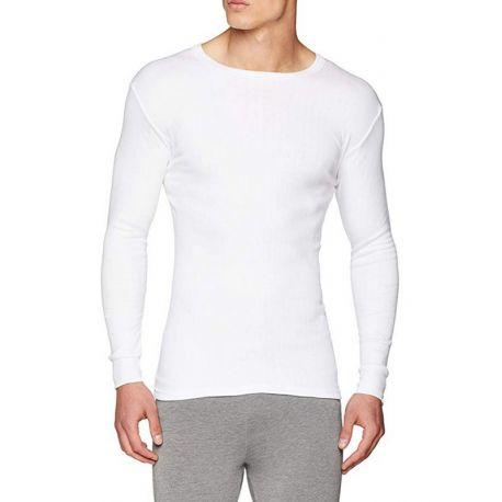 T-shirt Thermique En Coton à Col Rond Homme