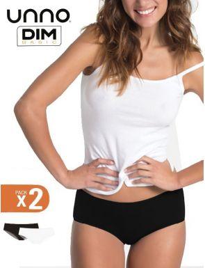 Culotte en coton élastique Unno Dim x2