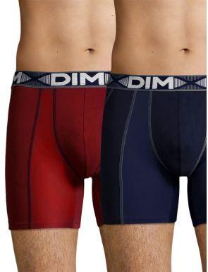 Boxers longs en coton 3D Flex DIM x2