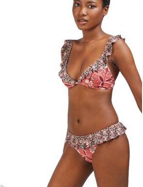 Haut de bikini triangle à armatures Gisela