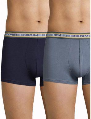Boxers homme en coton 3D Flex DIM x2