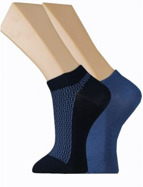 Pack 2 chaussettes Dim Cotton Style
