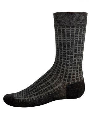 Chaussettes mi-mollet en laine pour homme
