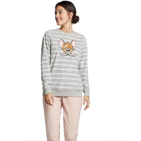 Pyjama polaire Tom et Jerry