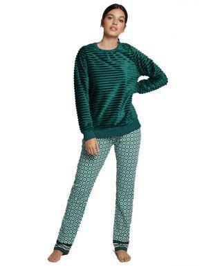 Pyjama long en peluche Gisela