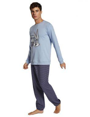 Pyjama rayé Looney Tunes homme