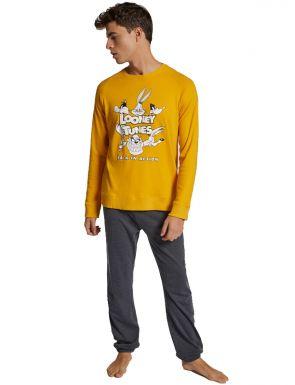 Pyjama polaire Looney Tunes homme