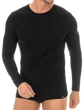 T-shirt manches longues en coton égyptien ZD