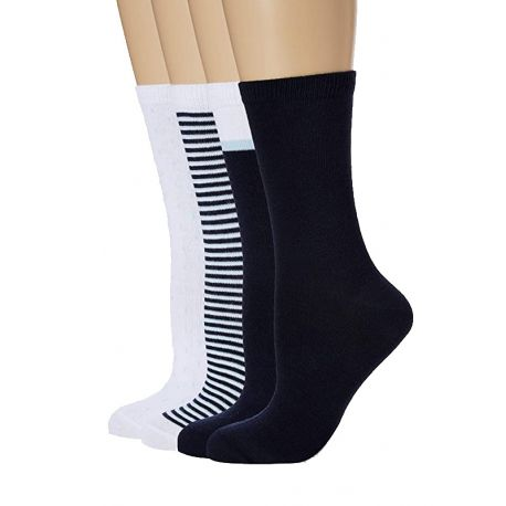 Lot de 4 paires de chaussettes pour femme Ecodim