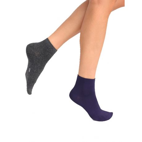 Socquettes femme seconde peau Dim x2