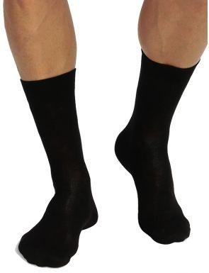 Lot de 2 paires de chaussettes hautes en coton bio Green