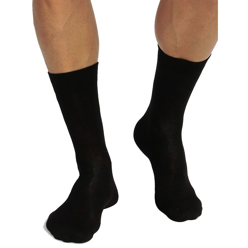chaussettes hautes en coton bio Green