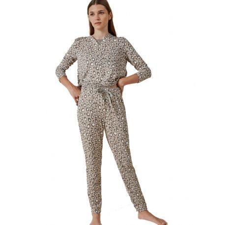 Pyjama à imprimé animalier