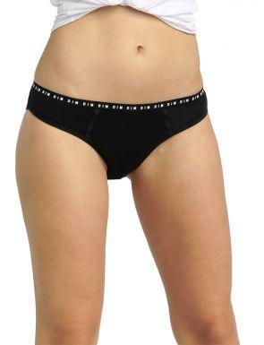 Culotte menstruelle lavable en coton bio à flux moyen Dim Protect