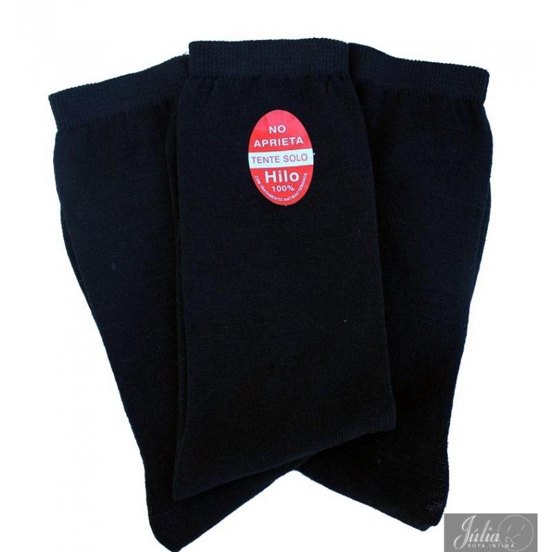 3 lot de 3 paires chaussettes homme sans compression. Black Bedroom Furniture Sets. Home Design Ideas