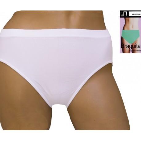 Culotte effet seconde peau confort de la microfibre